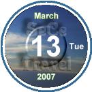 3.NEW-SeCeTravel-圓底-日期-WEEK-細鈕-20070313-Tue-135