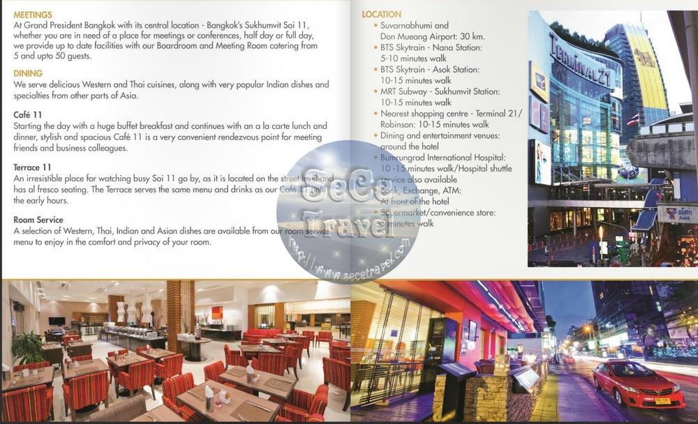 SeCeTravel-Grand President Hotel Bangkok-information-2