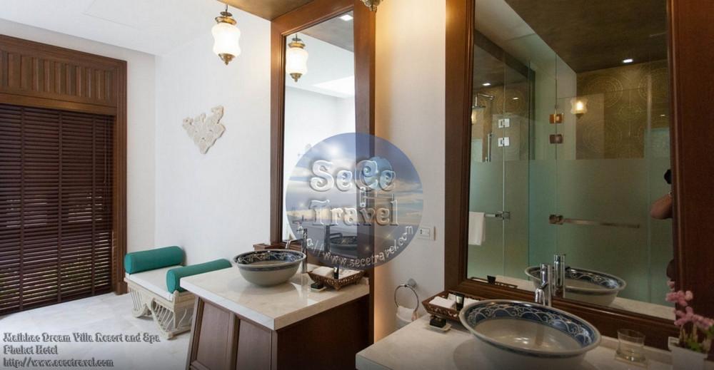 SeCeTravel-Maikhao Dream-2 BEDROOM POOL VILLA-GUEST ROOM BATHROOM