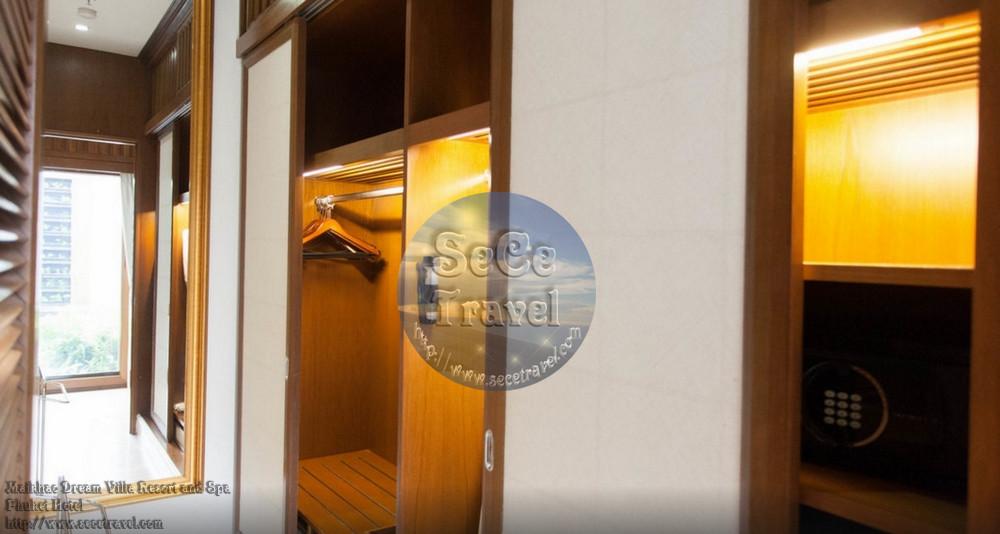 SeCeTravel-Maikhao Dream-2 BEDROOM POOL VILLA-MASTER ROOM DRESS