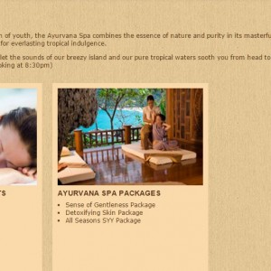 SeCeTravel-Santhiya Koh Yao Yai Resort & Spa - SPA DETAILS