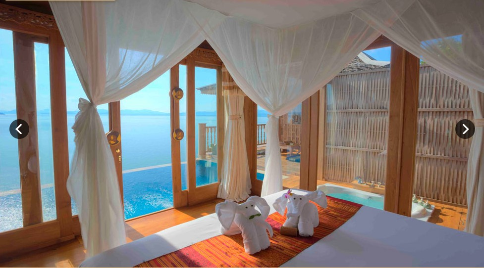 SeCeTravel-Santhiya Royal Grand Pool Villa Suite - MASTER BEDROOM