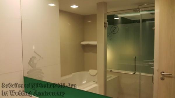 SeCeTravel-2016再戰布吉島~4月@轉轉轉酒店9天遊預告篇-Deluxe Jacuzzi-bathroom1
