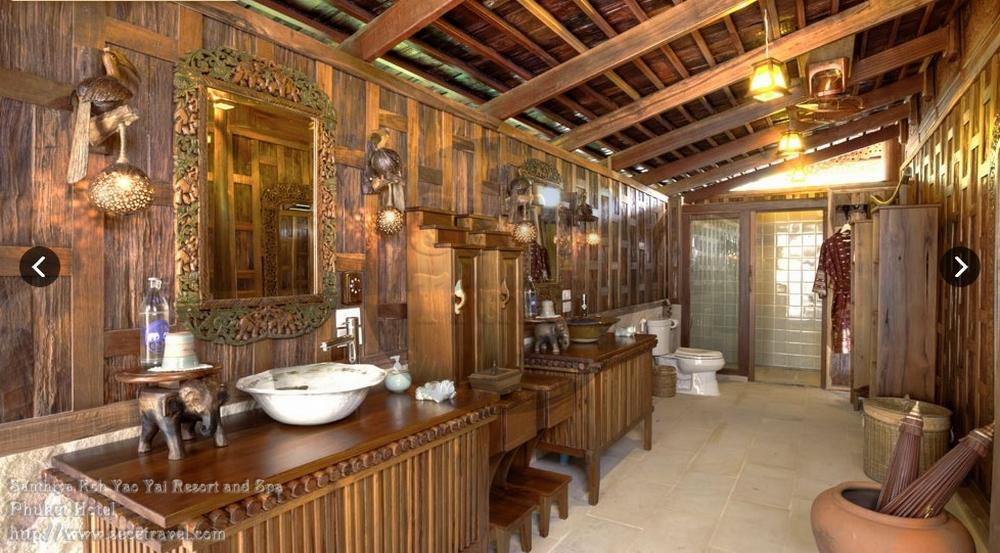 SeCeTravel-2016再戰布吉島~4月@轉轉轉酒店9天遊預告篇-Santhiya Royal Grand Pool Villa Suite - MASTER BATHROOM