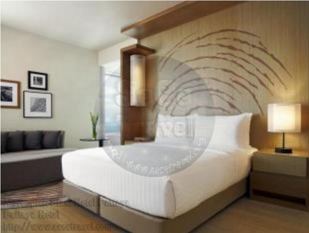 SeCeTravel-Movenpick Siam Hotel Pattaya-Executive Suite Sea View-bedroom