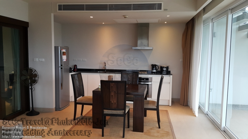 SeCeTravel-Serenity Resort & Residences Phuket-H2O SUITE-KITCHEN