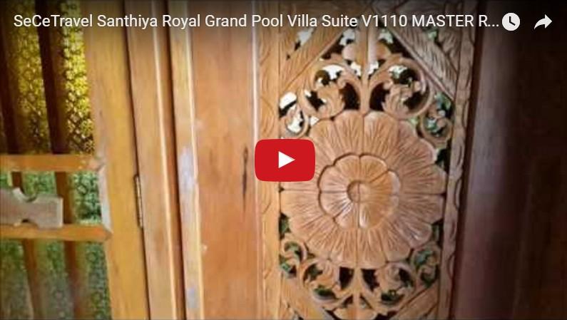 SeCeTravel - Santhiya Royal Grand Pool Villa Suite - V1110-MASTER ROOM - BATHROOM
