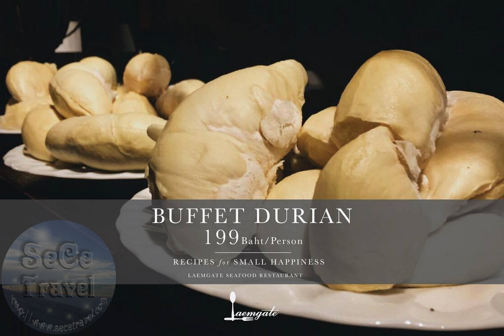 SeCeTravel-BUFFET DURIAN 199 BAHT-PERSON