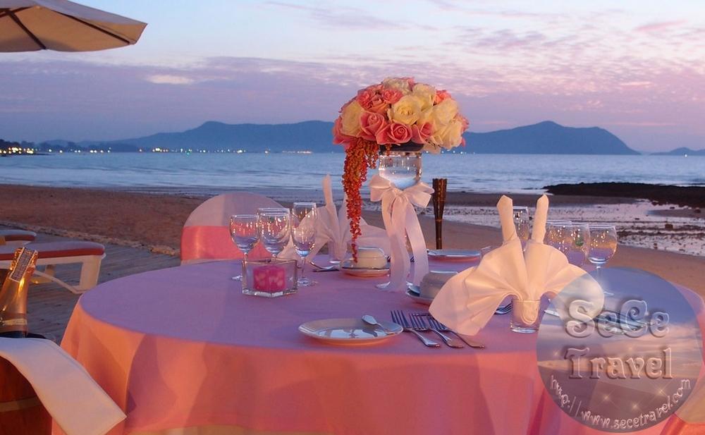 SeCeTravel-PATTAYA-SUNSET PARK-BEACH CANDLE LIGHT DINNER