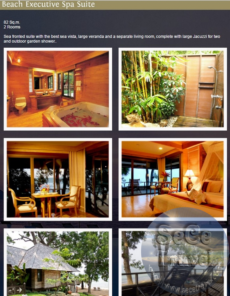 SeCeTravel-PATTAYA-SUNSET PARK-BEACH EXECUTIVE SPA SUITE
