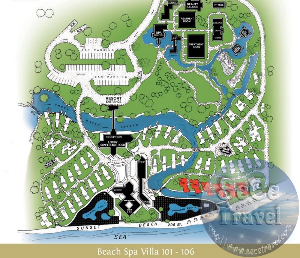 SeCeTravel-PATTAYA-SUNSET PARK-BEACH SPA VILLA-101-106