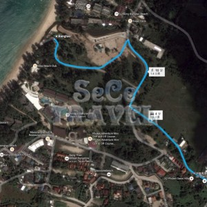 SeCeTravel-TWO-VILLAS-HOLIDAY-PHUKET-OXYGEN-STYLE-Bang-Tao Beach-MAP