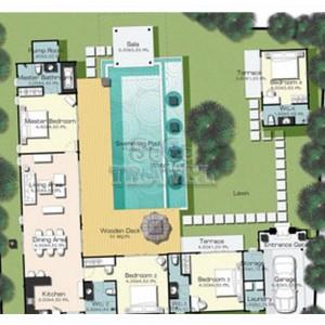 SeCeTravel-Two-Villas-Holiday-Oriental-Style-Layan-Beach-Phuket-Thailand-Villa-floorplan-2