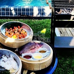 SeCeTravel-Two Villas Holiday Oriental Style Nai Harn Beach-bbq-2