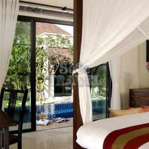 SeCeTravel-Two Villas Holiday Oriental Style Nai Harn Beach-bedroom-1