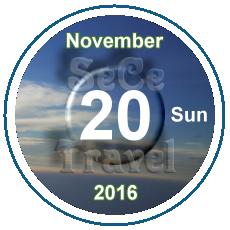 SeCeTravel-日曆-November-20161121-Sun