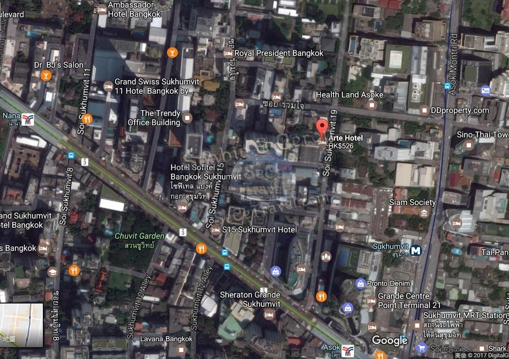 Arte Hotel-MAP