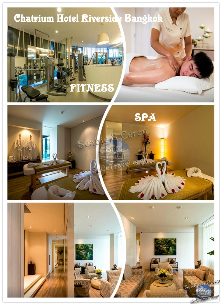 Chatrium Hotel Riverside Bangkok-FITNESS AND SPA