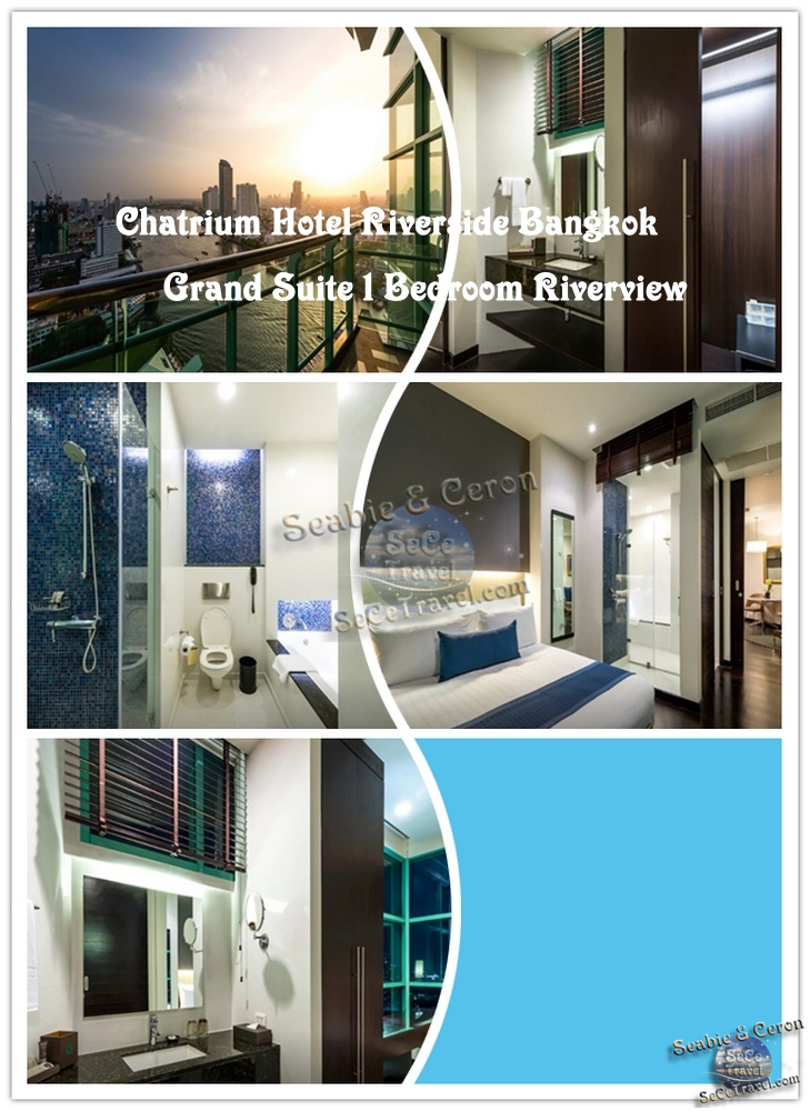 Chatrium Hotel Riverside Bangkok-GRAND 1 BEDROOM