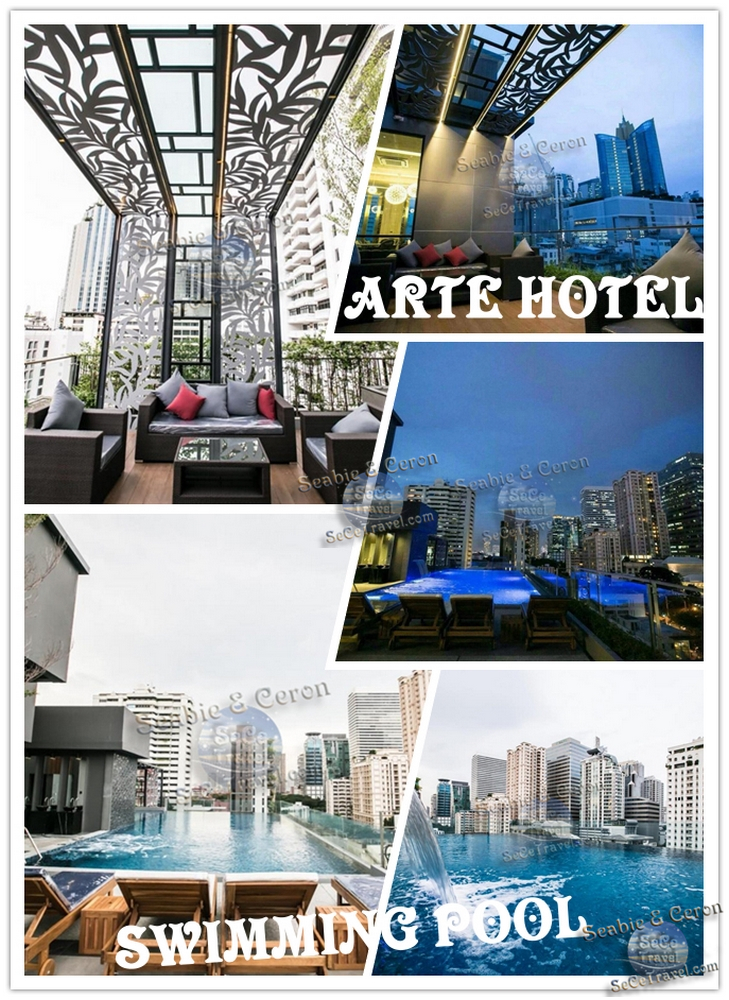 SeCeTravel-BANGKOK-ARTE HOTEL-SWIMMING POOL