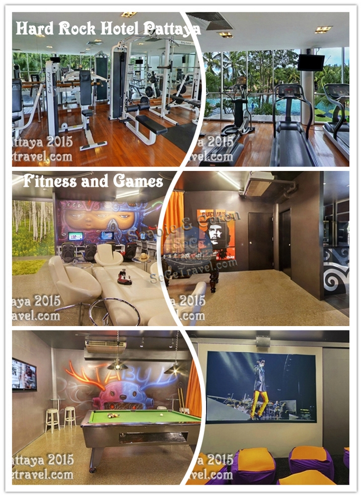SeCeTravel-HARD ROCK HOTEL-GAME AND FITNESS
