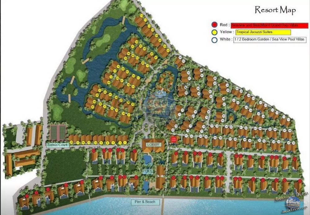 The Village Coconut Island Beach Resort-MAP-1
