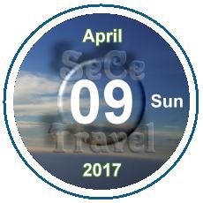 SeCeTravel-日曆-09-April-2017
