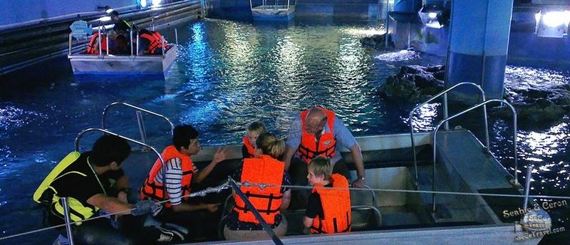 SeCeTravel-2017潑水節-海洋世界水族館-玻璃船