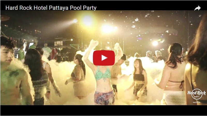 SeCeTravel-HARD ROCK HOTEL PATTAYA POOL PARTY