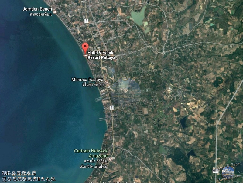 SeCeTravel-Veranda Resort Pattaya-MAP