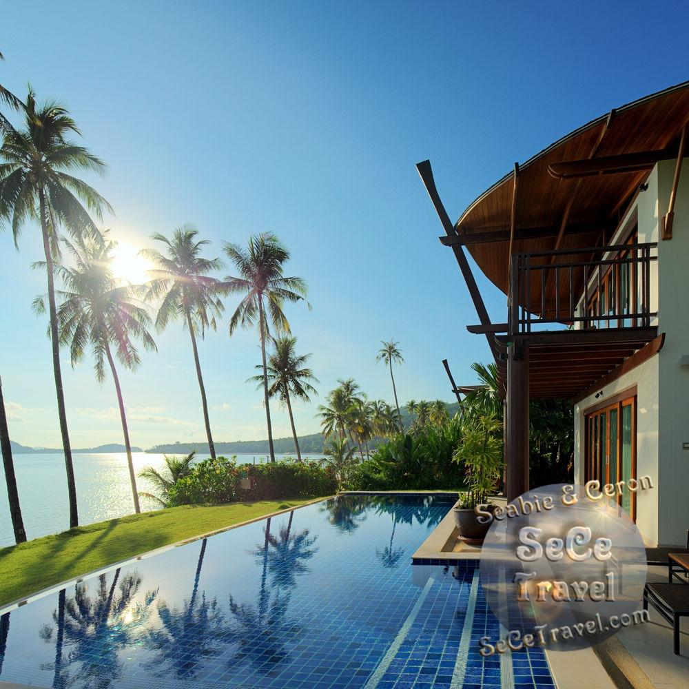 The Village Coconut Island Beach Resort-3 BEDROOM BEACH FRONT POOL VILLA-0