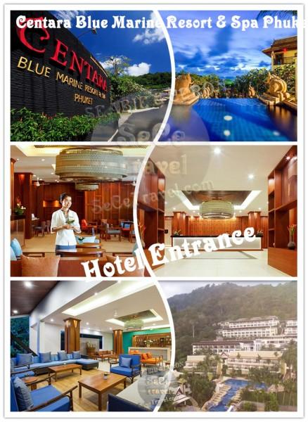 Centara Blue Marine Resort & Spa Phuket-Entrance