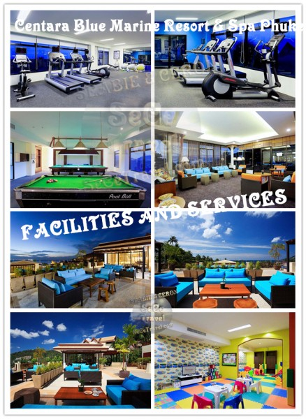 Centara Blue Marine Resort & Spa Phuket-FACILITIES AND SERVICES