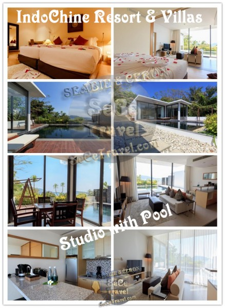IndoChine Resort & Villas-Studio with Pool