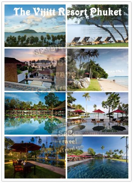 The Vijitt Resort Phuket-BEACH AND POOL