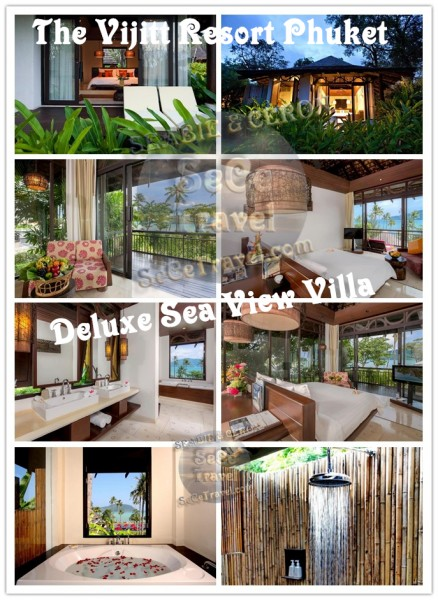 The Vijitt Resort Phuket-Deluxe Sea View Villa