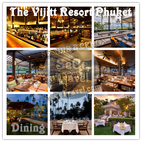 The Vijitt Resort Phuket-Dining