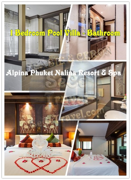 SeCeTravel-Alpina-1bedroom Deluxe Pool Villa-Bedroom