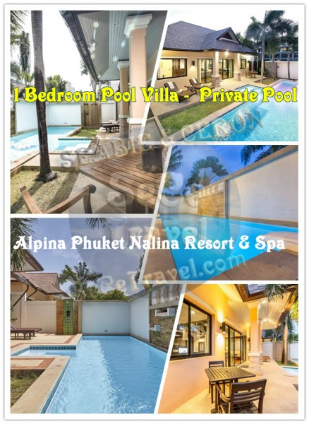 SeCeTravel-Alpina-1bedroom deluxe pool villa-private swimming pool