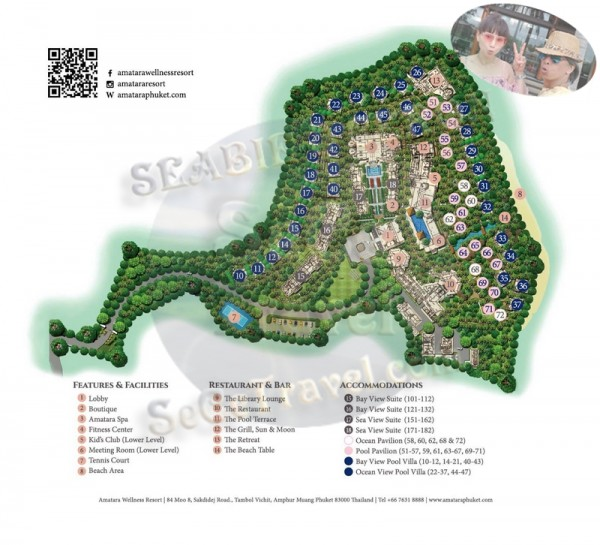SeCeTravel-05-Amatara Wellness Resort-HOTEL MAP