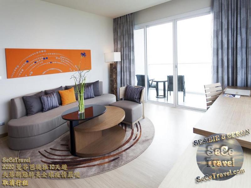 SeCeTravel-PATTAYA-MOVENPICK SIAM HOTEL-PRICE-EXECUTIVE SUTE SEA VIEW4